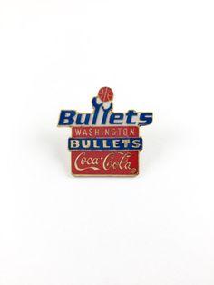 1994 BULLETS Pin Official NBA Limited by RetroPixelsAndToys