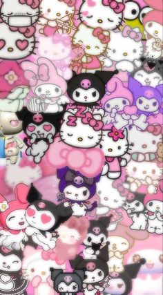 Hello Kitty Iphone Wallpaper, My Melody Wallpaper, Hello Kitty Backgrounds, Pop Art Wallpaper, Sanrio Wallpaper, Hippie Wallpaper, Anime Backgrounds Wallpapers, Cute Patterns Wallpaper, Kawaii Wallpaper