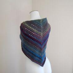Glacier Knitted Shawl by tejido on Etsy, $48.00