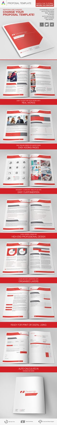 RFP Covers (Request for Proposal) on Behance Cover Designs - rfp template