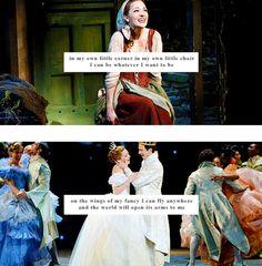 In My Own Little Corner - Laura Osnes, Cinderella on Broadway!