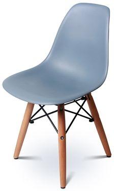 Alice & Fox Stol med Träben Grå Alice Fox, Eames, Chair, Inspiration, Furniture, Home Decor, Biblical Inspiration, Decoration Home, Room Decor