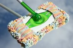 Make a reusable swifter pad that is washable in your washer.