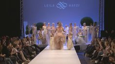 """LEILA HAFZI Royaye Sefid I """"Bright Dreams"""" 2010/11         Royaye Sefid, which means """"bright dreams"""" in Persian, is Leila Hafzi's first BridalCollection."""