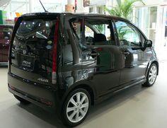 Black Daihatsu Move 4