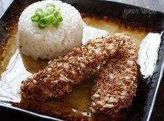 If you like the taste of sesame as much as I do, you'll love these simple baked chicken tenders coated with sesame seeds, panko and a hint of…