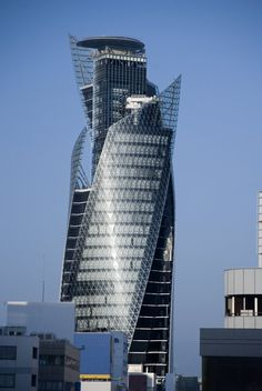 Mode Gakuen Spiral Tower, Nagoya, Japan. It's 170 metres tall, and with a distinctive screwed shape.