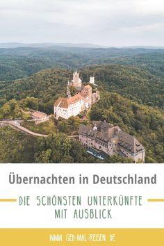 Natürlich gibt es auch in Deutschland mega gute Unterkünfte, die einen atemberaubenden Ausblick bieten. Wenn du auf der Suche nach einer genialen Übernachtungsmöglichkeit bist, dann wirf einen Blick auf unsere Liste. Wald, Berg, Meer – alles ist dabei! Ferienwohnung   Baumhaushotel   Ferienhaus Nordsee #gehmalreisen