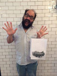 Ignatius Farray, actor y cómico, 17 de julio de 2014.  #barberiamalayerba #oldschool #barber #malasaña www.barberiamalayerba.es