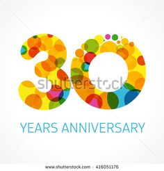 30th Anniversary 写真素材・ベクター・画像・イラスト   Shutterstock