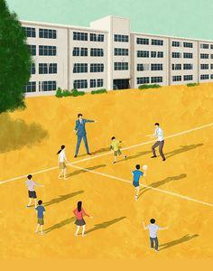 書籍『ジッシュー!!』古川春秋著(光文社) Book cover Illustration for Shunju Furukawa's book. #illustration #illustrator #イラスト #イラストレーション #イラストレーター