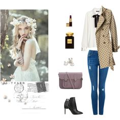 """""""i will send you a postcard soon"""" by annietheou on Polyvore"""
