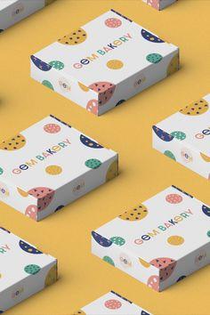 Cake Boxes Packaging, Baking Packaging, Food Packaging Design, Packaging Design Inspiration, Brand Packaging, Brownie Packaging, Cookies Branding, Cake Branding, Logo Cookies