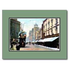 Vintage Church Street Liverpool Postcards and greeting cards