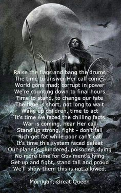 Shared by American Witchcraft on FB. Celtic Goddess, Celtic Mythology, Pagan Witch, Witches, Moon Witch, White Witch, Dark Witch, Book Of Shadows, Gods And Goddesses