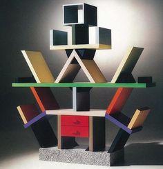 Ettore Sottsass' Carlton Bookcase (Memphis Design)