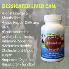 Perfect Desiccated Liver Capsules are obtained solely from healthy free-range cattle that feed exclusively on lush green grass that sprouts from rich Argentinean soil. The cows are untouched by hormones and antibiotics, and they never come into contact with chemical fertilizers, pesticides, or any other chemical contaminants.