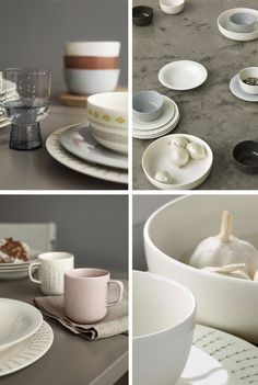 Lovely Table Collection by Iittala ♥ Love the white plate with simple design.