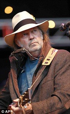 Ruffling feathers: Canadian rocker Neil Young                                                                                                                                                                                 More
