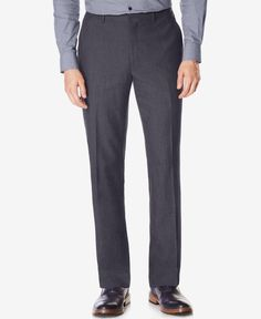 Perry Ellis Men's Neat Tonal Pants