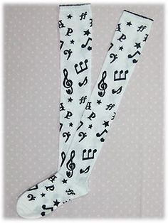 AP Fancy Melody OTK Socks 2310 JPY