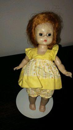 Sun Dress Vintage Madame Alexander Doll Tag