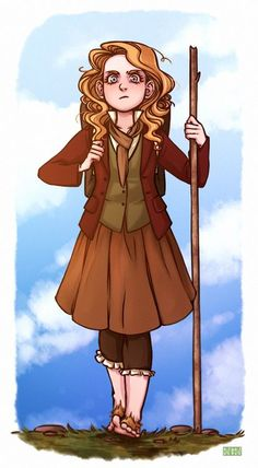 hobbit girl art - Поиск в Google