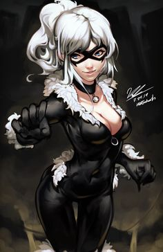 black cat marvel Black Cat by HOAIartworks on DeviantArt Spiderman Black Cat, Black Cat Marvel, Spiderman Art, Black Cat Comics, Amazing Spiderman, Marvel Comics, Marvel Art, Anime Comics, Marvel Women