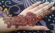 simple arabic mehndi design for mehndi artist