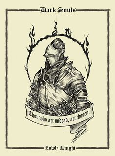 Dark Souls Cards by  Priscila Maciel