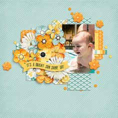 Layout of the Day, 11 July 2016 - Gotta Pixel created with Summer Sun by Ooh La La Scraps