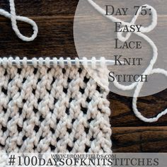 For a light weight, hassle free knitting experience use bamboo knitting needles. Lace Knitting Stitches, Bamboo Knitting Needles, Knitting Basics, Lace Knitting Patterns, Knitting Videos, Easy Knitting, Knitting Projects, Stitch Patterns, Knitting Tutorials