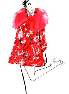 Dolce & Gabbana SS 2014  illustration * Marc-Antoine Coulon