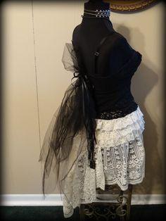 Gypsy boho gothic steampunk wedding bohemian by SummersBreeze
