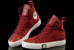 #converse Unisex Light ox Converse Chuck Taylor All Star leather Red Canvas High Tops Sneakers