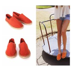Beautiful sustainable espadrilles for women