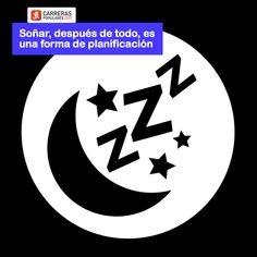 Soñar, después de todo, es una forma de planificación Logos, Art, Frases, Shapes, Quote Of The Day, Racing, Art Background, Logo, Kunst