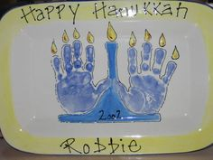 menorah hand print ccsa photo share