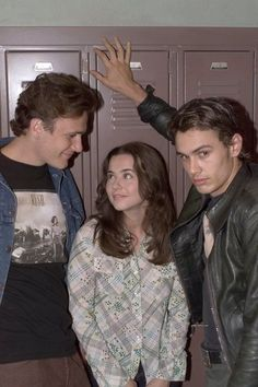 Freaks and Geeks- I'd like to be in the middle of those boys.