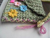 Detské tašky - detská zelená taštička - 4044191_
