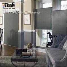 "Bali DiamondCell - 3/8"" Midnight Blackout Cellular Shades | Blinds.com"