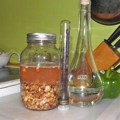 Homemade Frangelico (Hazelnut Liqueur)