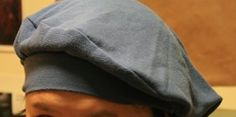DIY - Beret From Old Shirt - The Go Green Blog