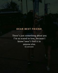 TAG YOUR BESTIE . I just absolutely love yall friends of mine on here. All of y Friendship Quotes Quotes Distance Friendship, Best Friendship Quotes, Emotional Friendship Quotes, Funny Friendship, Dear Best Friend, Best Friend Quotes For Guys, Breakup Quotes For Guys, Friend Sayings, Just Friends