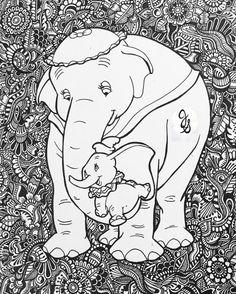 Diseño de Dumbo por byjamierose en Etsy