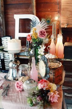 gorgeous candy buffet