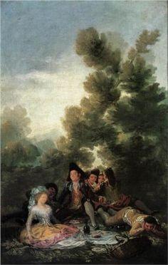 The Picnic - Francisco Goya, 1788 - National Gallery, London