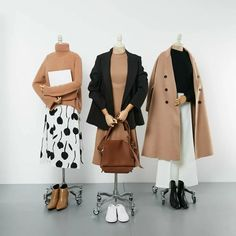 casual date outfit Korea Fashion, Muslim Fashion, Modest Fashion, Hijab Fashion, Fashion Dresses, Cute Fashion, Look Fashion, Vintage Fashion, Fashion Design