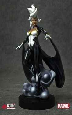 Marvel Comics Museum Collection - Statuette 1/9 Storm Uncanny X-Force Ver. 21cm