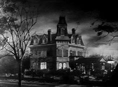 The house that started my love of all things dark and dreary - the Addams family dark gothic home